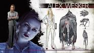 Alex wesker concept
