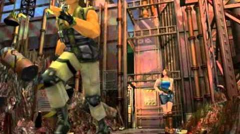 Resident Evil 3 Nemesis cutscenes - The Second Chopper (Ver