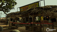 Adam's Shop - Resident Evil 5 Studio Lot - PlayStation Home