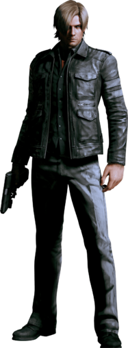 File:Leon S. Kennedy - Biohazard 6.png