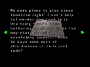 RE2 Watchman's diary 05