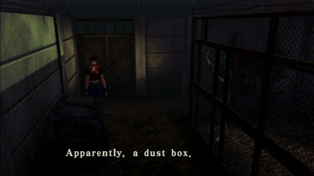 File:Resident Evil CODE Veronica - square in front of the guillotine - examines 02.png