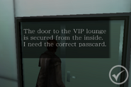 Degeneration Chapter 2 - locked VIP lounge door