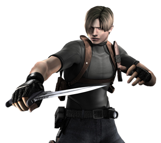 File:Leon holding knife RE4.png
