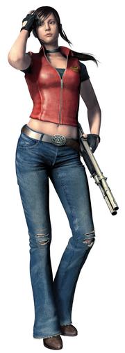 Claire Mercenaries 3D
