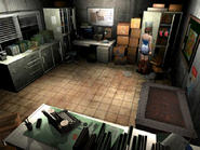 Resident Evil 3 Nemesis screenshot - Uptown - Warehouse office pickup 02