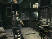 Oil field control facility in-game (RE5 Danskyl7) (6)