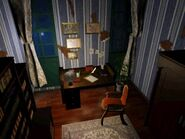 Resident Evil 1996 background - Lord Spencer's study 2