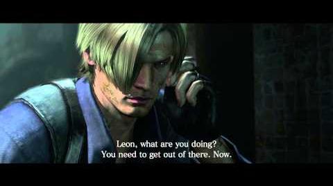 Resident Evil 6 all cutscenes - Ingrid Hunnigan