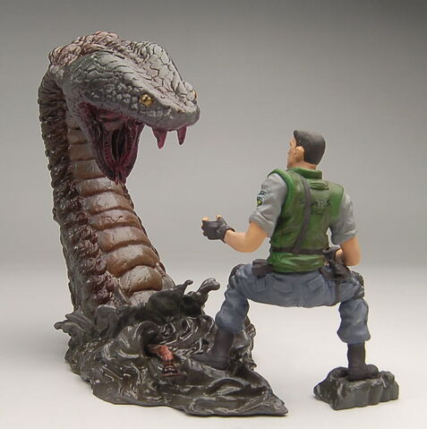 File:Biohazard Figure Collection - Chris Redfield vs. Yawn.jpeg