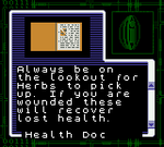 Gaiden file - Health Doc page 1