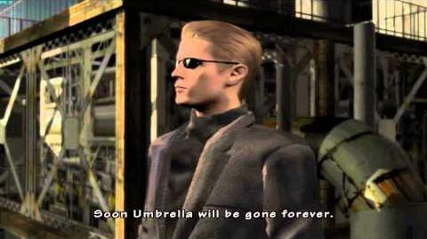 Resident Evil The Umbrella Chronicles all cutscenes - Dark Legacy 2 ending