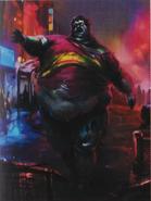 Resident Evil 6 Art Book - Whopper 2 art