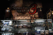 BIOHAZARD THE REAL 3 giftshop 1