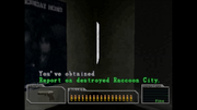 Survivor file - Report on destroyed Raccoon City - location