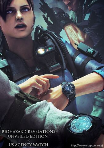 File:BIOHAZARD REVELATIONS UNVEILED EDITION X US AGENCY WATCH.jpg