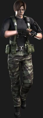Resident Evil The Darkside Chronicles - Operation Javier - Leon Scott Kennedy render