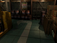 Resident Evil 3 background - Uptown - warehouse t - R10111