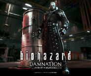 Biohazard Damnation official website - Wallpaper D - Smart Phone Android - dam wallpaper4 960x800