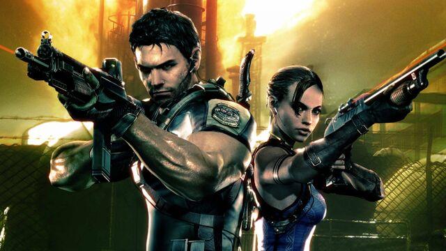 File:Resident Evil 5 - Sheva and Chris wallpaper 4.jpg