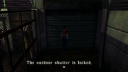 Resident Evil CODE Veronica - square in front of the guillotine - examines 04-1