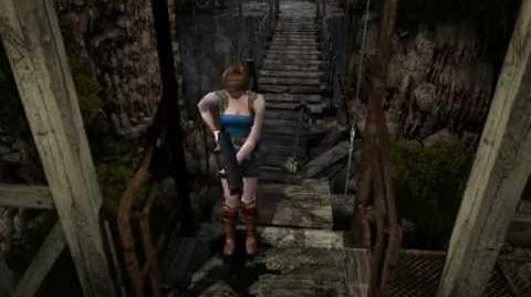 Resident Evil 3 Nemesis cutscenes - Nemesis at the bridge (Out of time)