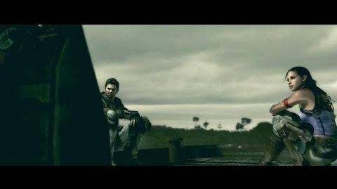 "Resident Evil 5 - Cutscenes 28 ""Boat Majini Appear"""