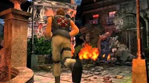 Resident Evil 3 Nemesis cutscenes - Menacing Nemesis