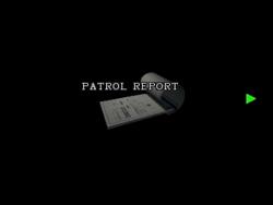 RE2 Patrol report 01