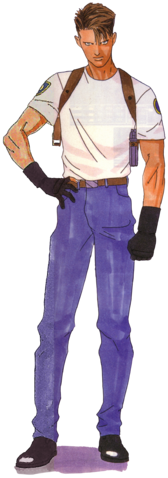 File:BIOHAZARD 1.5 concept art - Leon S Kennedy early casual design reconstruction transparent.png