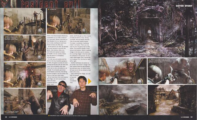 File:Resident Evil 4 - Game Informer March 2004, Issue 131 - p32-33.jpg