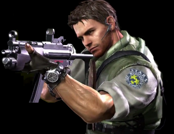 File:Chris Redfield by Cheli chan.png