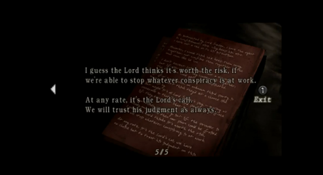 File:Resident Evil 4 file - Chief's Note 5.png