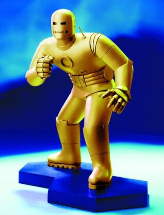 IRONMAN STATUE Gold