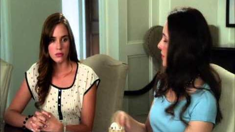 "Revenge S2XEP4 ""Intuition"" Victoria Questions Charlotte"