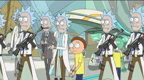 The Citadel of Ricks - Rick and Morty (UNCENSORED)