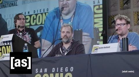 Rick and Morty Panel SDCC 2016 Rick and Morty Adult Swim
