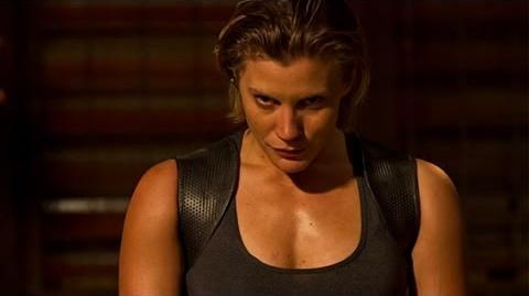 Riddick - Katee Sackhoff Interview - Comic-Con 2013