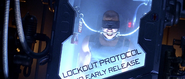 Riddick in Cryo Locker