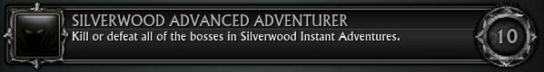 Silverwood Advanced Adventurer