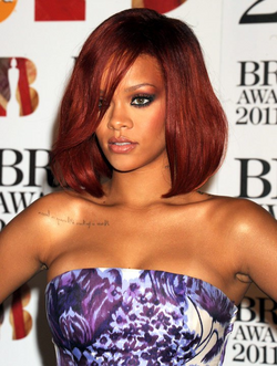 Rihanna at 2011 Brit Awards