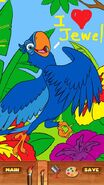 Rio coloring image 4