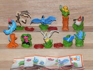 Rio 2 kinder surprise