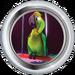 Silver Badge Parakeet