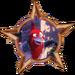 Bronze Badge Bird Rapper