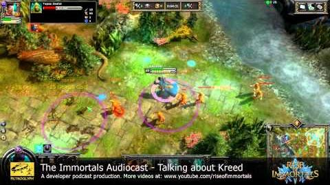 The Immortals Audiocast - Talking About Kreed