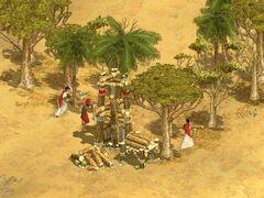 Woodcutters Camp (Desert)