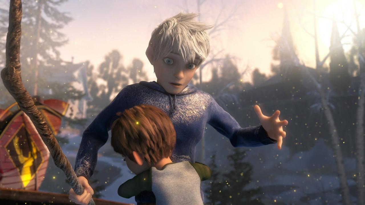 Warren Moon >> Image - Jack and jamie hug.1.jpg | Rise of the Guardians ...