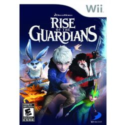 Rise of the guardians the video game nintendo wii