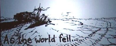 As the world fell